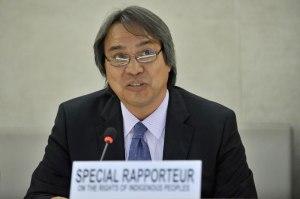 Special Rapporteur James Anaya