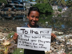 Tuvalu, plea for action on climate change